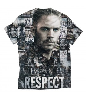 Respect all printed t-shirt